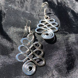 Anju Jewelry - Anju silver-plated earrings